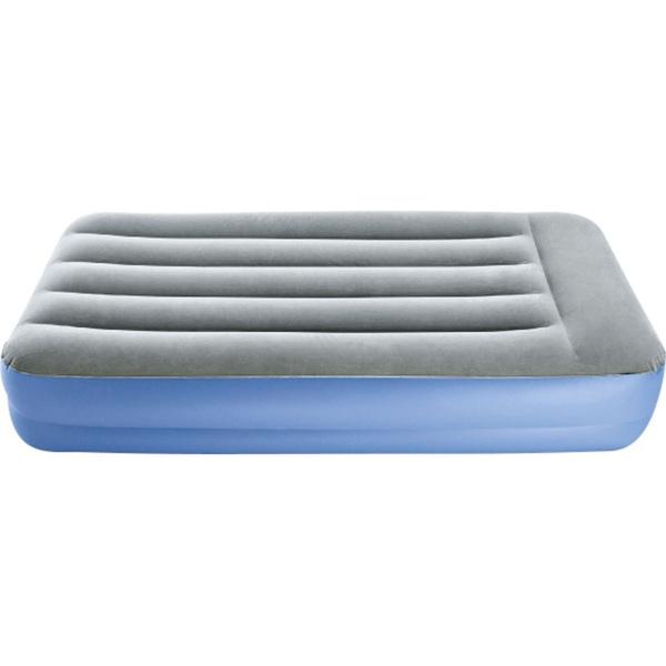 Luftmatratze Single PVC Blau ca. 190 x 90 cm