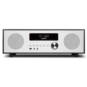 MEDION LIFE X64400 Mikro-Audio-System mit Bluetooth & DAB+, 2.1 All-in-One Audio System mit DAB+, 2 x 20 W RMS Lautsprecher und 40 W RMS Subwoofer