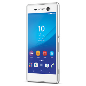 Sony Xperia M5 Smartphone, 12,7 (5') FHD-Display, Android 5.0, 16 GB Speicher, Octa-Core-Prozessor, weiss