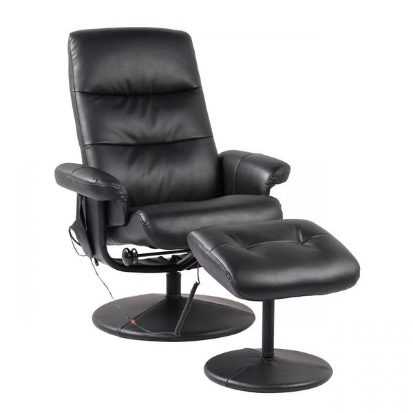 Alpha Techno Massagesessel 2126 schwarz