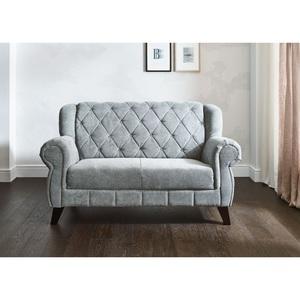 LIV ´ IN Sofa ARUBA Stoffbezug Grau ca. 170 x 99 x 82 cm