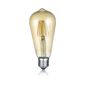 TRIO Retrofit LED Glühlampe /Leuchtmittel Kolben E 27 / 6 Watt (ca. 420 Lumen) FILAMENT