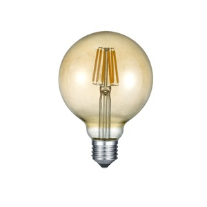 TRIO Retrofit LED Glühlampe /Leuchtmittel Globe E 27 / 6 Watt (ca. 420 Lumen) FILAMENT getönt