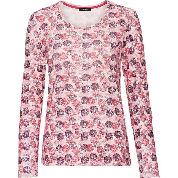 9f2ea726ef68 Olsen Damen Langarmshirt mit Print von Karstadt ansehen! » DISCOUNTO.de