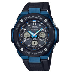 CASIO G-SHOCK             Multifunktionsuhr GST-W300G-1A2ER mit Funkempfang (EU, USA, Japan, China) und Solar