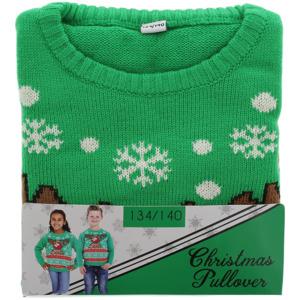 Kinder Pullover mit Weihnachtsmotiv