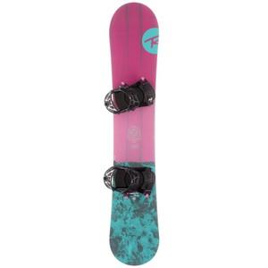 ROSSIGNOL Snowboard-Set Allmountain Gala Damen rosa/blau, Größe: 146 CM