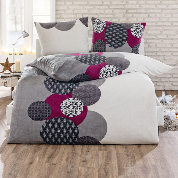 dreamtex nicki bettw sche ca 135 x 200 cm beere von norma ansehen. Black Bedroom Furniture Sets. Home Design Ideas