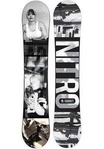 Nitro Addict 158cm - Snowboard für Herren - Schwarz
