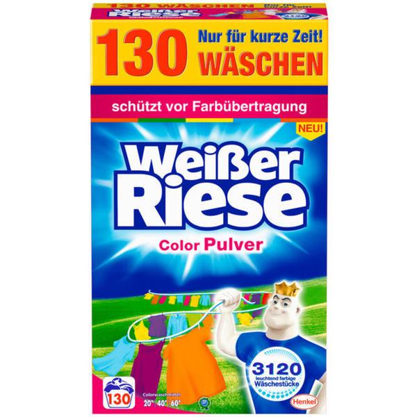 Weißer Riese Color Pulver, 130 WL 0.13 EUR/1 WL