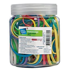flink & sauber Gummiringe 2.49 EUR/100 g