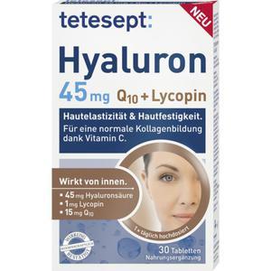 tetesept Hyaluron 45mg Q10 + Lycopin Tabletten