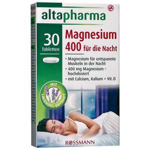 altapharma Magnesium 400 für die Nacht
