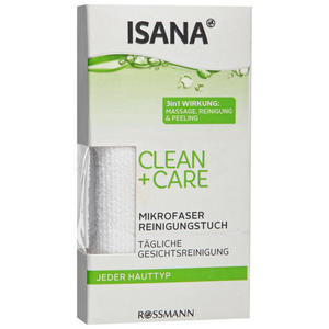ISANA Clean + Care Mikrofaser Reinigungstuch