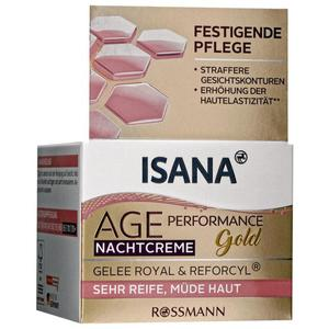 ISANA Age Performance Gold Nachtcreme 15.98 EUR/100 ml