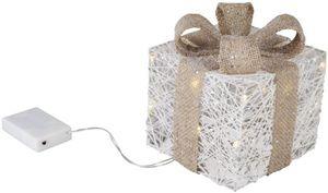 LED-Geschenkpäckchen - aus Polyester - verschiedene Größen