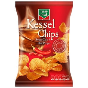 Funny-frisch Kessel Chips Sweet Chili 120g