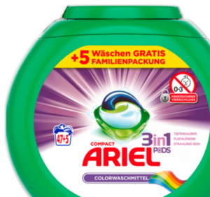 ARIEL 3in1 POD Colorwaschmittel