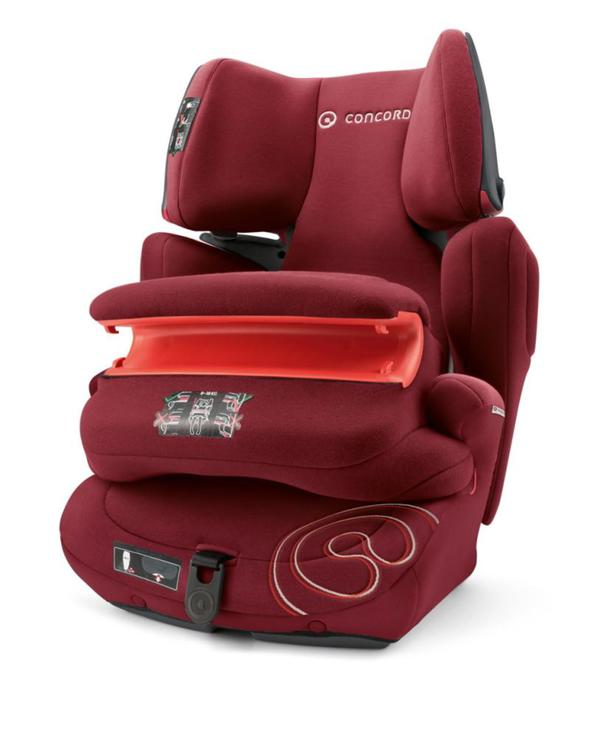 Autokindersitz Transformer Pro Bordeaux Red