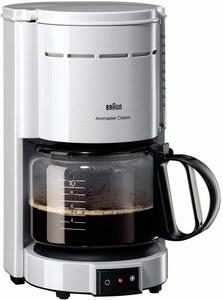 Braun KF 47/1 WH Classic Kaffeeautomat weiß