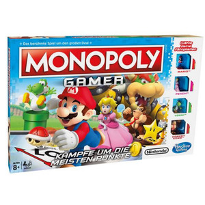 Hasbro Gaming - Monopoly Gamer Mario Edition