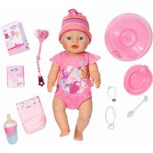 Zapf Creation - Baby Born Interactive Girl Puppe