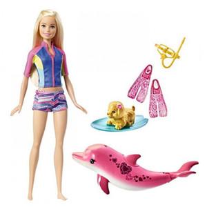 Mattel - Barbie - Magie der Delfine Barbie und tierische Freunde