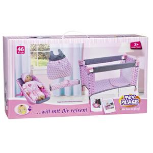 Müller - Toy Place - Puppen-Reiseset … will mit Dir reisen! (Puppe im Lieferumfang nicht enthalten)