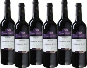 Pierre Baptiste - Grenache-Syrah Réserve - Pays d, Oc IGP Rotwein aus Frankreich - Südfrankreich 2014 trocken