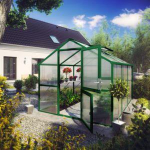 KGT Tulpe III Gewächshaus - moosgrün