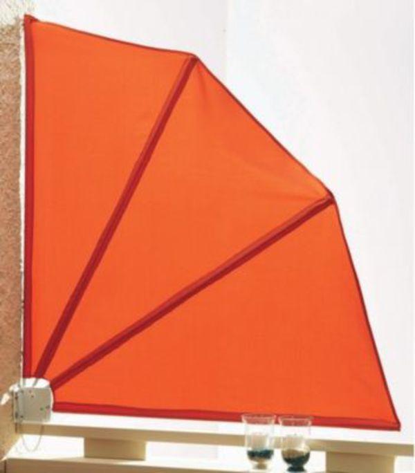 Grasekamp Sichtschutz Facher 120x120cm Balkon Sichtschutz Terra Von