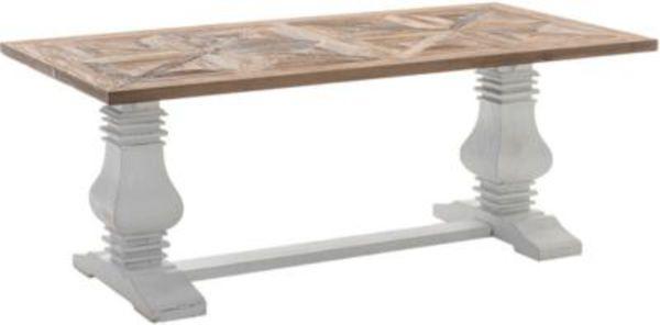 Holz Esszimmer Tisch TABOA, Handgefertigt, Shabby Chic Landhaus Stil, Größe  Wählbar