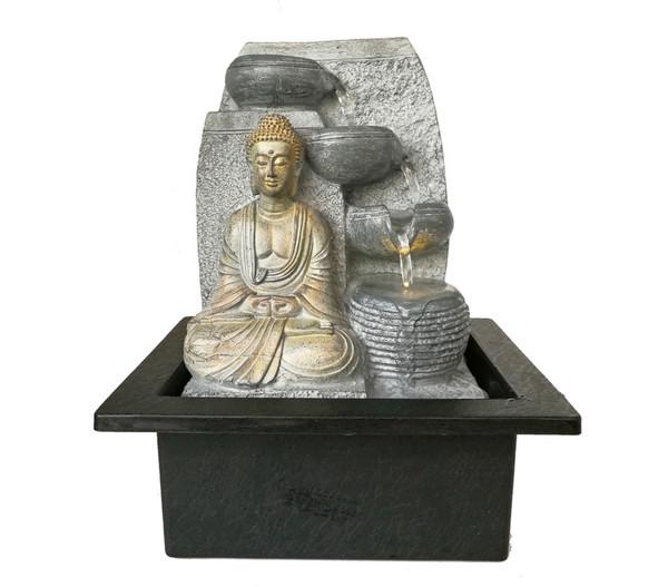Dehner Markenqualität Polyresin-Zimmerbrunnen Steine