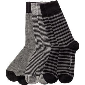 Calvin Klein Herren Socken-Geschenkbox, 3er Pack