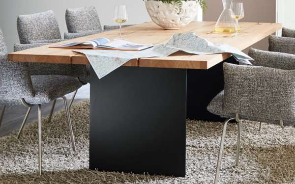 venjakob esstisch e244 in santana eiche hell ge lt von. Black Bedroom Furniture Sets. Home Design Ideas