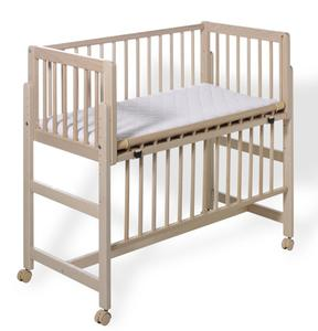 Geuther Beistellbett Betsy Boxspring natur