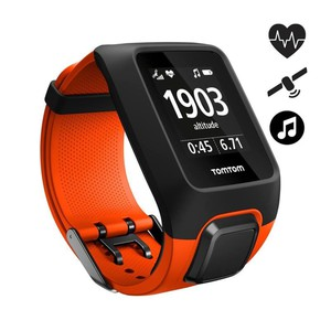 GPS-Pulsuhr Adventurer HFM + Music L orange