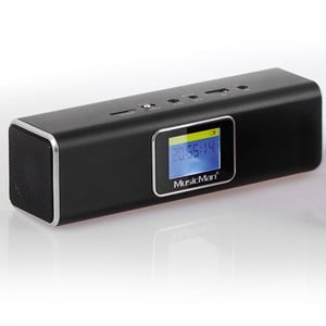 Technaxx MusicMan MA Display Soundstation - Schwarz