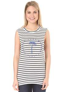 RVCA Tropic Future Muscle - T-Shirt für Damen - Streifen