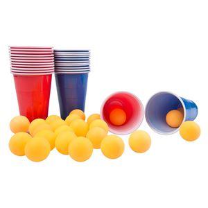 Trinkspiel Bier-Pong 48-teilig