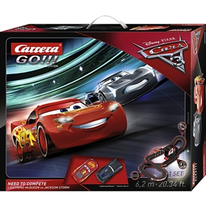 Carrera GO!!! - Disney Cars: Need to Compete