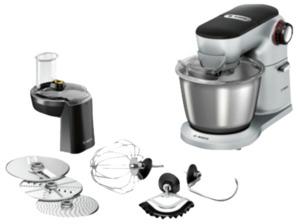BOSCH MUM9D33S11 OptiMUM, Küchenmaschine, Platin/Silber