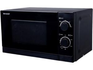 SHARP R 200 BKW, Mikrowelle, 800 Watt