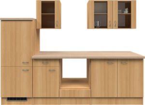 Flex-Well Küchenzeile ohne E-Geräte 270 cm L-270-2206-030 Nano