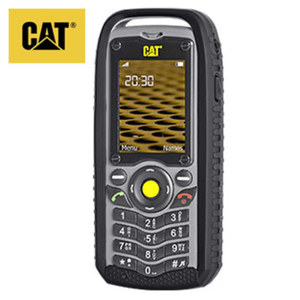 Outdoorhandy Cat® B25 • 2-MP-Digitalkamera • MP3-Player • microSD™ bis zu 8 GB • UKW-Radio • Taschenlampe/Kameralicht • Bluetooth®