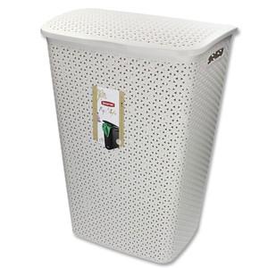 Curver Wäschebox »My Style« 55 L 43 x 33 x 58 cm creme