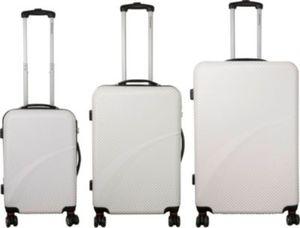 royal class travel line polycarbonat trolley set von aldi. Black Bedroom Furniture Sets. Home Design Ideas