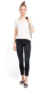 TOM TAILOR Denim Female Jona Extra Skinny Jeans, blackblue denim, 32