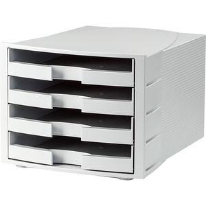 Han Schubladenbox Impuls,DIN A4, linen