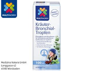 MULTINORM Kräuter-Bronchial-Tropfen²